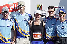 "Gigathlon 2007 7-Days Team of Five ""Bern, wir kommen! @ SAP"""